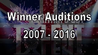 Download Winner of Britain's Got Talent Auditions Compilation 2007 - 2016 Video