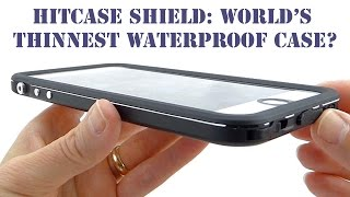 Download Waterproof, Ultra Thin, with an Aluminum Frame: Go Slim with Hitcase Shield for iPhone 6s Plus! Video