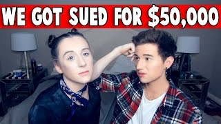 Download WE GOT SUED FOR $50,000 *NOT CLICKBAIT* Video