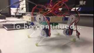 Download My Quadruped Arduino Robot Video