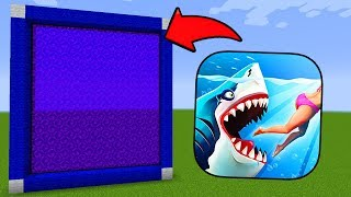 Download How To Make a Portal to the HUNGRY SHARK Dimension in Minecraft PE Video