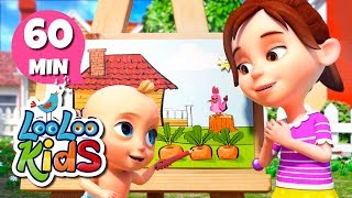 Download Drawing Song - Educational Songs for Children | LooLoo Kids Video