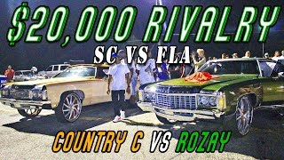 Download COUNTRY C VS ROZAY $20,000 GRUDGE RACE REMATCH - Fla2Atl Donk Racing Video