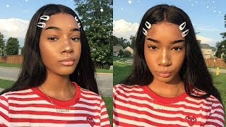 Download a chatty grwm: straight brows + faux freckles ☆ Video