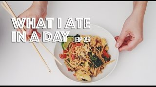 Download WHAT I ATE IN A DAY (VEGAN) EP #22 Video