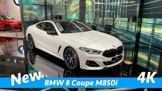 Download BMW 8 Coupé M850i 2019 - first FULL exclusive quick look in 4K Video