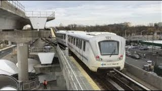 Download AIRTRAIN JFK AIRPORT TRANSFER FROM TERMINAL 4 TO TERMINAL 1 AIRPORT OVERVIEW FROM AIRTRAIN Video