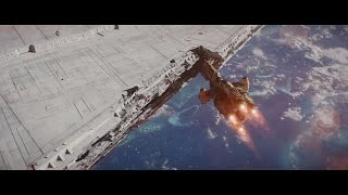 Download Rogue One: Hammerhead Corvette Attack - with music by John Williams Video