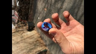Download How to make a resin ring, WITHOUT A LATHE! Video
