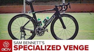 Download Sam Bennett's Specialized S-Works Venge Vias Video