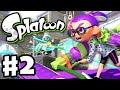 Download Splatoon - Gameplay Walkthrough Part 2 - Splat Roller! (Nintendo Wii U) Video
