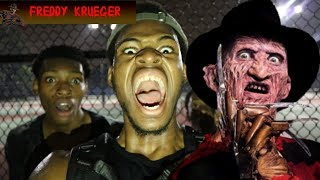 Download HUNTING FOR FREDDY KRUGER *WE FOUND HIM!!!!!!* HE CHASED US WITH HIS CLAWS!!!! Video
