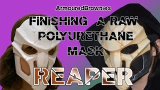 Download Finishing a Raw Polyurethane Mask for Cosplay and Costuming! Overwatch Reaper! Video