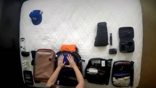 Download Packing for 2.5 Weeks in a Backpack - Guys - Loophole Travel Video