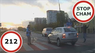 Download Stop Cham #212 - Niebezpieczne i chamskie sytuacje na drogach Video