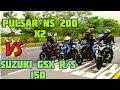 Download PULSAR NS 200 X2 Vs SUZUKI GSX R/S | EL RETO FINAL | 🏍️🏍️🔥🔥 | PIKE ÉPICO en IBAGUÉ !! Video