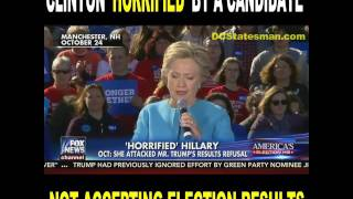 Download Hillary Clinton Was 'Horrified' That Trump Might Not Accept Election Results Video