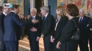 Download Il Premier Lussemburghese a Mattarella ″Le Presento mio Marito″ Video