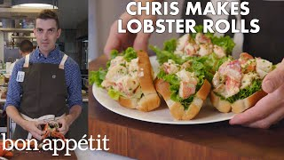 Download Chris Makes Lobster Rolls From Scratch | From the Test Kitchen | Bon Appétit Video