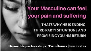Download YOUR MASCULINE HAS FELT YOUR TEARS AND PAIN AND NOW COMING TOWARDS YOU | TWINFLAMES | SOULMATES | Video