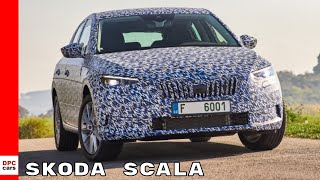 Download Skoda Scala Media Test Drive Video