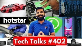 Download Tech Talks #402 - Samsung New Design, Ferrari Vs Tesla, Jio 153 Plan, IPL 2018, Hike Total, SD 670 Video