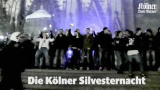 Download Polizei-Videos aus der Silvesternacht zeigen das Chaos vor dem Kölner Hauptbahnhof Video