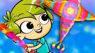 Download ROMPE LA PIÑATA canciones infantiles Video