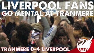 Download Liverpool Fans go MENTAL on Tranmere Concourse! | LFC Chants! Video