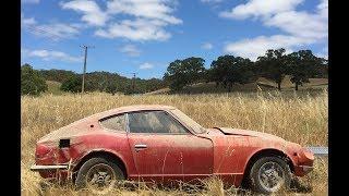 Download Datsun 240z restoration time lapse. Video