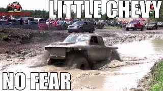 Download Little Chevy No Fear Mudding At Walton's Mud Bog 2018 Video