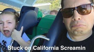 Download Stuck on California Screamin with a GoPro 2016 Disneyland California Adventure Video