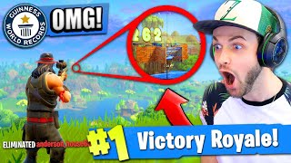 Download *NEW* RECORD BREAKING SNIPE in Fortnite: Battle Royale! Video