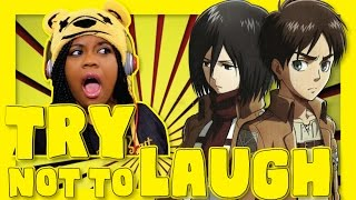 Download Attack On Titan in 9 Minutes | Try Not To Laugh | AyChristene Reacts Video