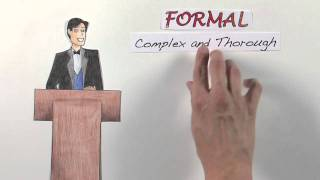 Download Formal vs Informal Writing: What's the Difference and When to Use Them Video