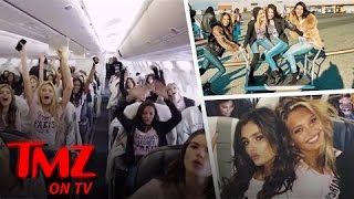 Download Victoria Secret Models On A Plane, These Are The Hottest Women In The World | TMZ TV Video