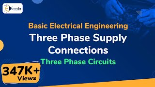 Download Three Phase Supply Connections - Three Phase Circuits - Basic Electrical Engineering Video