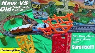 Download New Versus Old Thomas & Friends Trackmaster Trains - Avalanche Escape Set Video