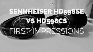 Download Initial Impressions: Sennheiser HD598 Closed vs. HD598 SE Open Headphones Video