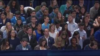 Download US elections: Hillary Clinton supporters getting emotional at the election watch party Video