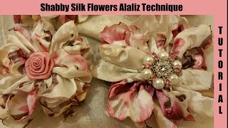 Download Silk Flower, no sew, shabby chic tutorial, melting, (synthetic silk) singed artificial flower Video