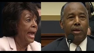 Download Maxine Waters Confronts Ben Carson Video