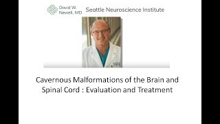 Download CAVERNOUS MALFORMATIONS OF THE BRAIN AND SPINAL CORD Video