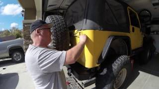 Download LED Tail Light Install 2000 Jeep TJ Video