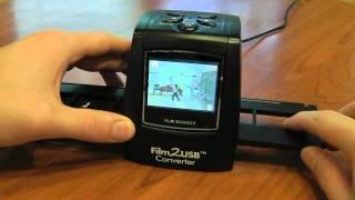 Download 35mm Film, Slide, and Negative Scanner Video
