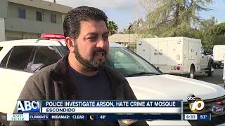 Download Police to step up patrols after arson at Escondido mosque Video