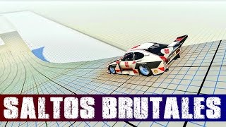 Download BeamNG.DRIVE - #3 - Competición de saltos | Gameplay Español Video