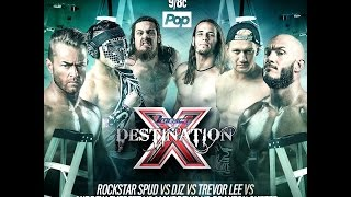 Download TNA Destination X 2016: X Division Championship #1 Contenders Ladder Match Video