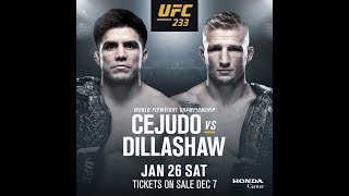 Download TJ Dillashaw vs Henry Cejudo UFC on ESPN+ time, odds, predictions and how to watch Video