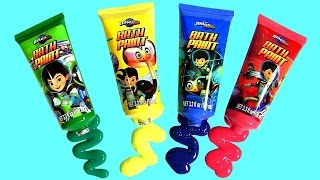 Download Cars Color Changers Bath Paint Miles From Tomorrow Slime Baff Learn Color Changing Bath Water Toys Video